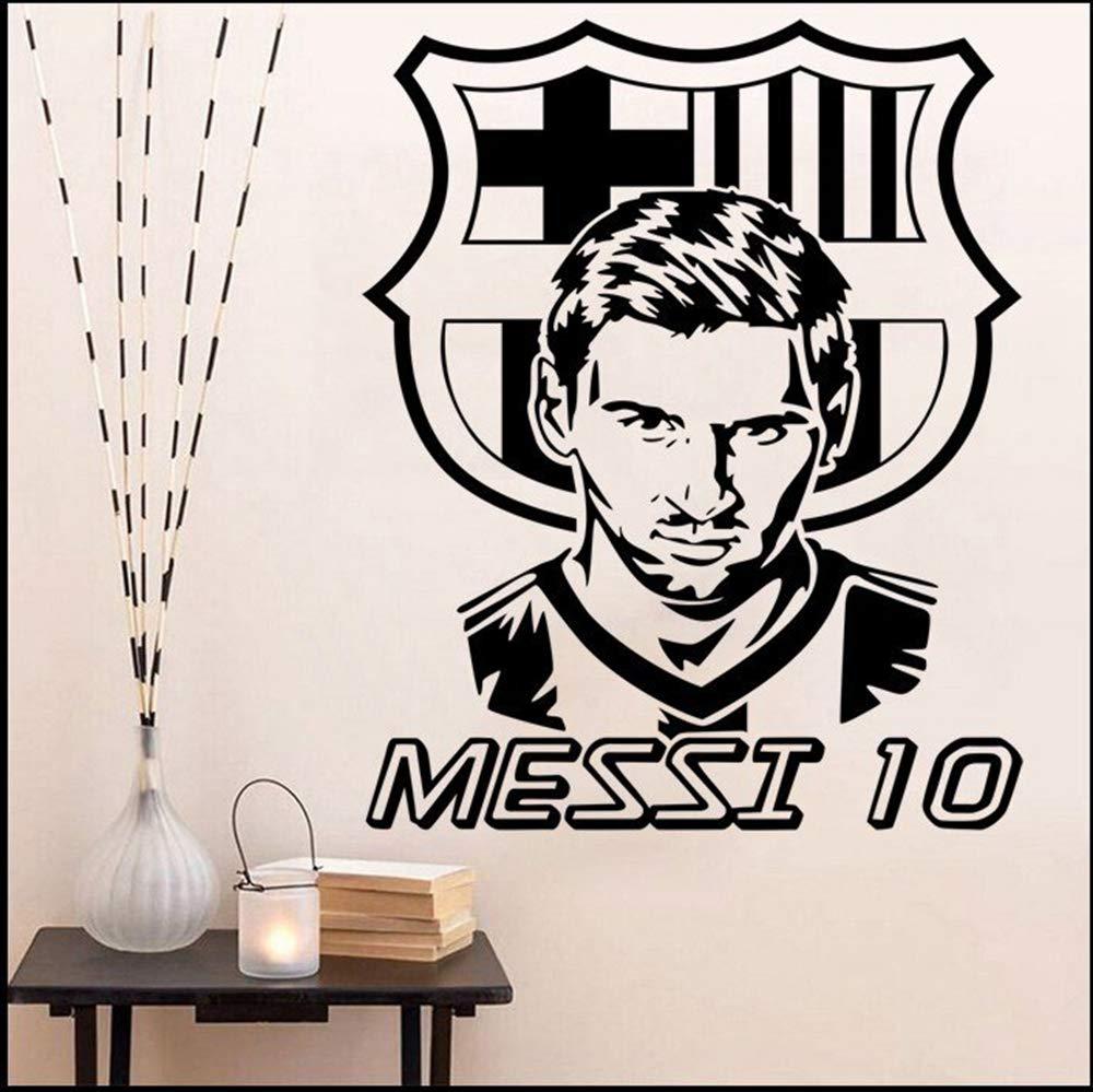 pegatina de pared 3d Lionel Messi Sticker Decal Etiqueta de la ...