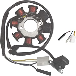 shamofeng Stator Magneto Coil For GY6 49cc 50cc Scooter Moped 49cc 50cc