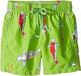 Vilebrequin Kids Baby Boy's Peaceful carps Swim Trunk (Toddler/Little Kids/Big Kids) Green Swimsuit Bottoms