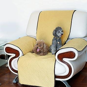 Zehui Funda de sofá antideslizante para mascotas, perros, gatos, a prueba de arañazos, antideslizante, protector de muebles: Amazon.es: Hogar