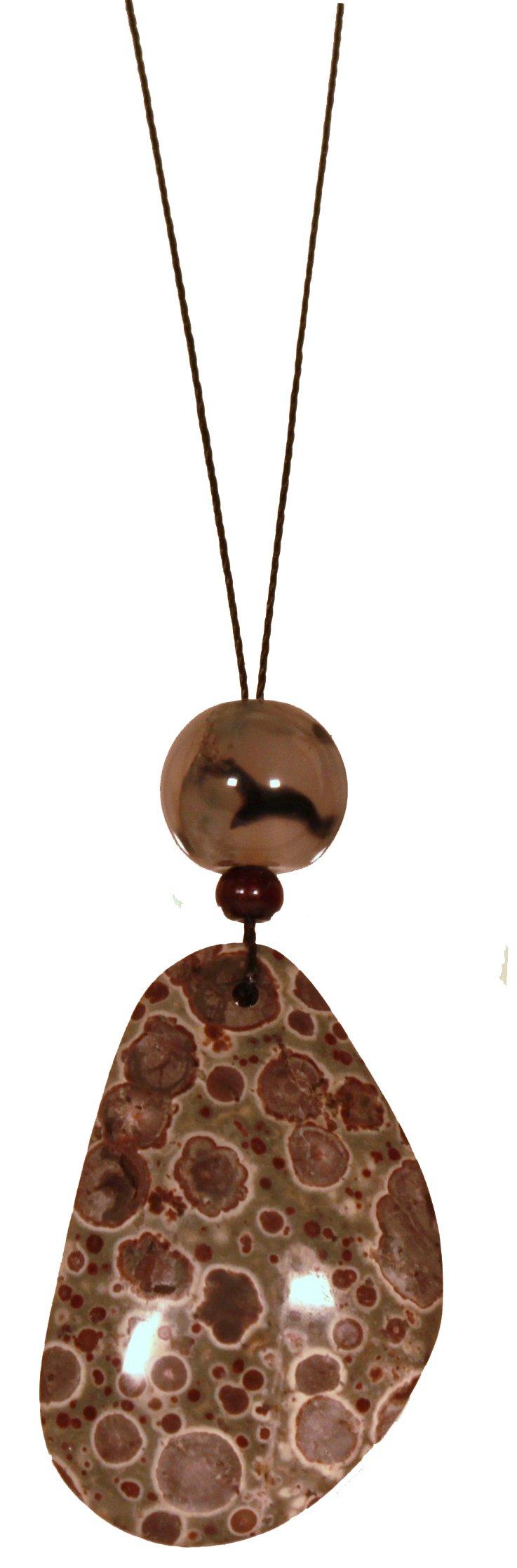 Pendulum / Spiderweb / Chakra Balancing Amulet