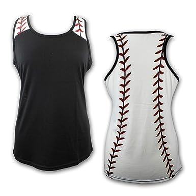 d317876a6169 Amazon.com: KNITPOPSHOP Baseball Tank Top for Mom Fans T Shirt Apparel  Tshirt Gifts Team: Clothing