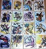 Dragonball Z Shikishi art4 all 16 full set complete Japan Bandai Signboard