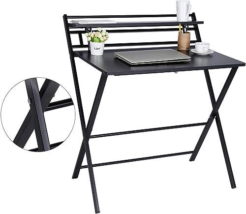 2021 Folding Study Desk Folding Laptop Table Home Corner Desks Simple Computer Desk