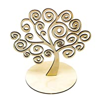 Ruby-Portacandele in legno portacandele Tree of Life a forma di display Home Kitchen Decor