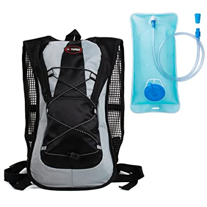 Hydration Pack with 2L Backpack Water Bladder. Great for Hiking - Running - Biking,