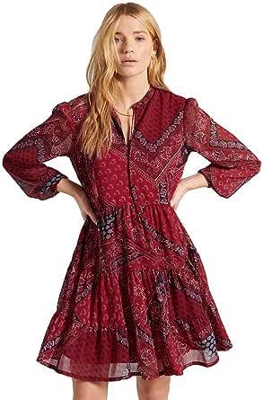Superdry Tie Shirt Dress Vestido Casual para Mujer