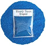 Blue Mini Sugar Balls 30g (approx 1mm diameter) for cake or cupcake decorations