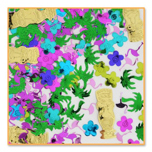 Island Party Confetti (Pack of 96) by Beistle