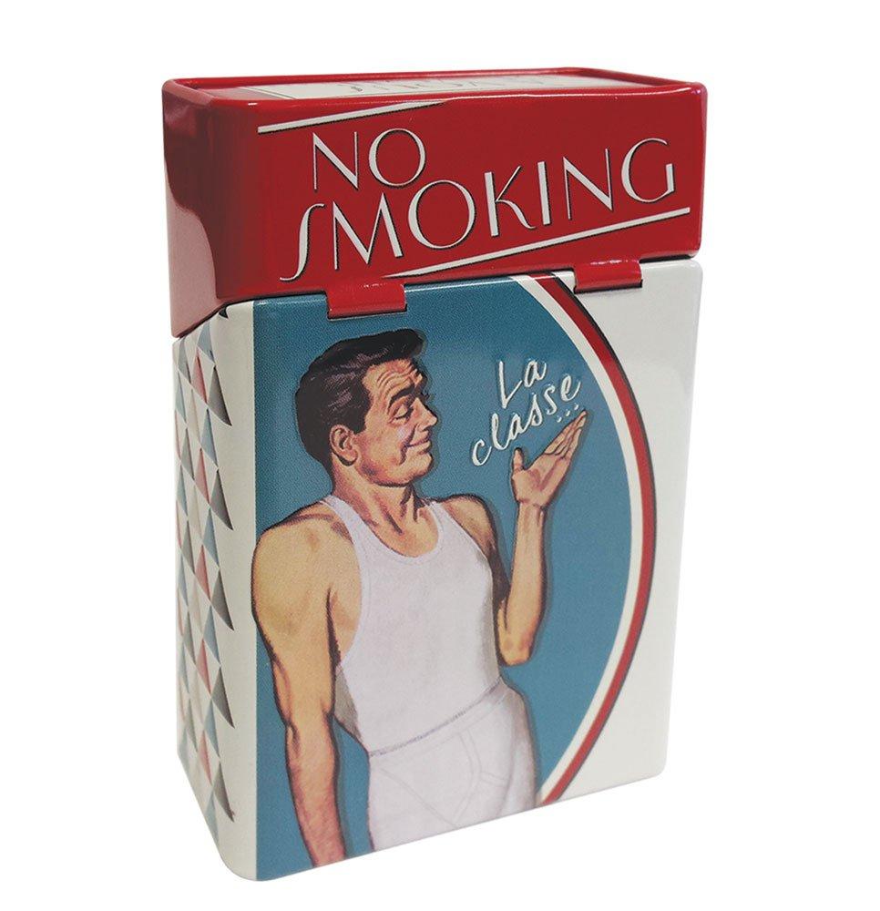 NATIVES Etui à Paquet de Cigarettes - Smoking no Pitillera, 10 cm