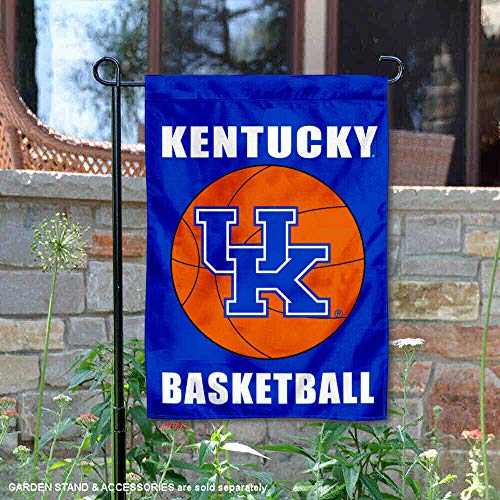 College Flags and Banners Co. Kentucky Wildcats Basketball Garden Flag ()