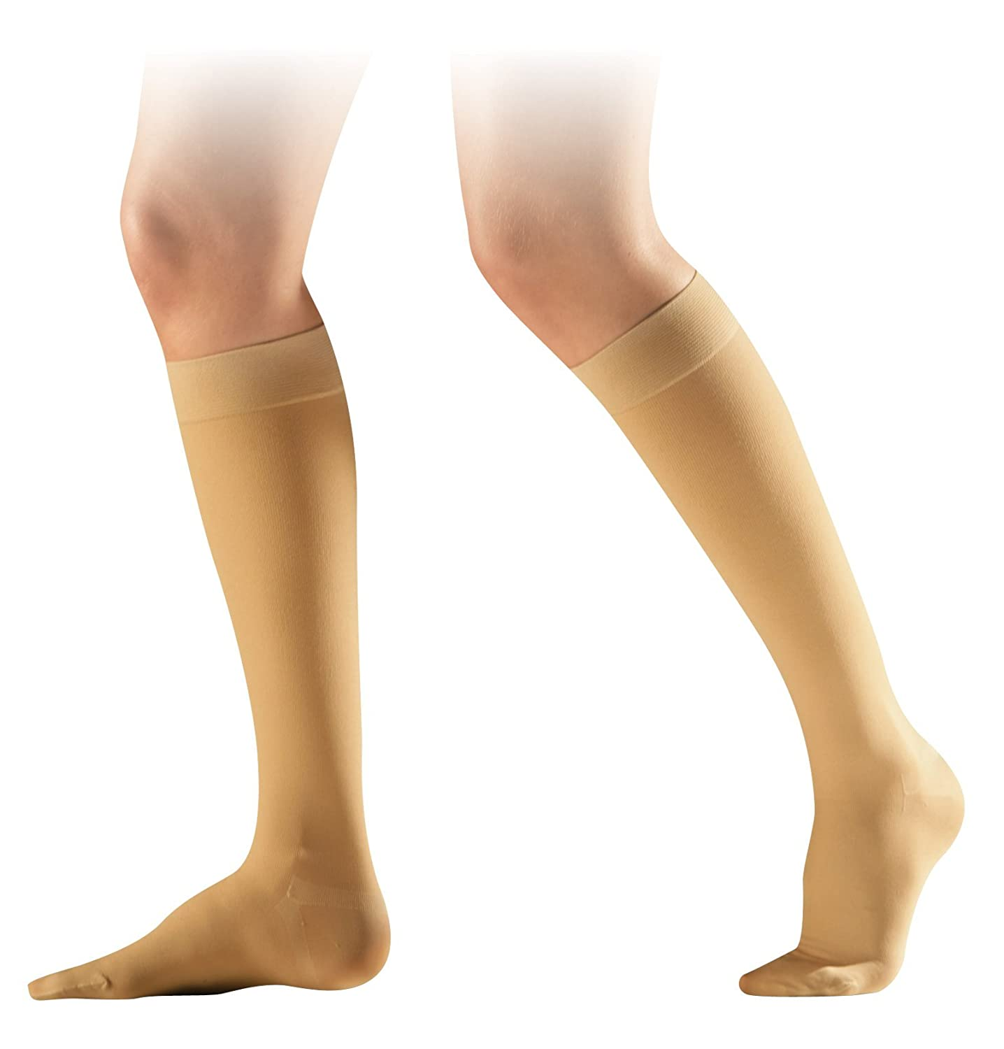 756335af25 SIGVARIS COTTON CLASS 2 REGULAR CLOSED TOE COMPRESSION CALF STOCKINGS -  NATURE: Amazon.co.uk: Health & Personal Care