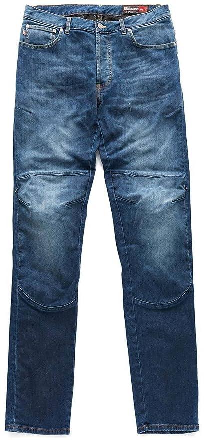 Kevin Azul Pantalones vaqueros, color azul: Amazon.es: Coche ...