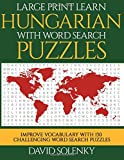 Large Print Learn Hungarian with Word Se