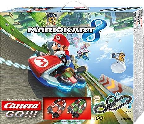 Carrera GO!!! - Circuito Nintendo Mario Kart, 4.9 m (20062362): Amazon.es: Juguetes y juegos