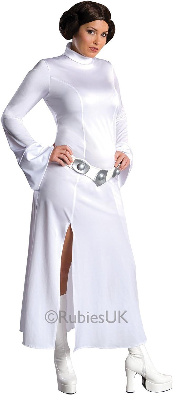 Disfraz oficial de vestido sexy de Princesa Leia de Star Wars con ...