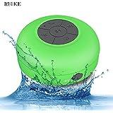 MOKE Altoparlante impermeabile Bluetooth 3.0 funzione vivavoce e microfono, portatile e utilizzabile sotto l'acqua, colore verde