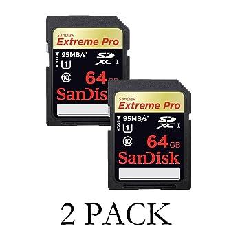 SanDisk sdsdxp-064g-a46 64 GB Extreme Pro Tarjeta SD: Amazon ...