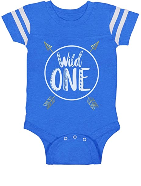 Amazon Wild One Baby Boys Girls 1st Birthday Gifts Year Old Jersey Bodysuit Clothing