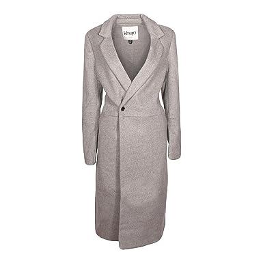 Khujo Mimas Damen Mantel Grau Meliert Größem Amazonde Bekleidung