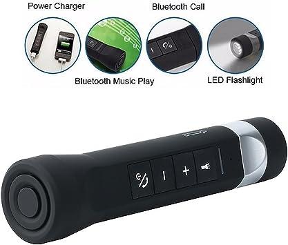 Besty 5 en 1 Multi función bicicleta Bluetooth Altavoz y ...