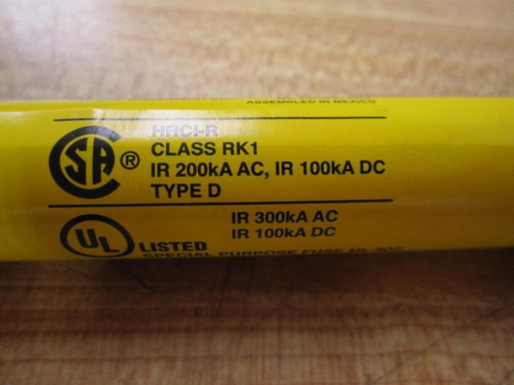 Pack of 10 Bussmann LPS-RK-1SP LPSRK1SP Fuse