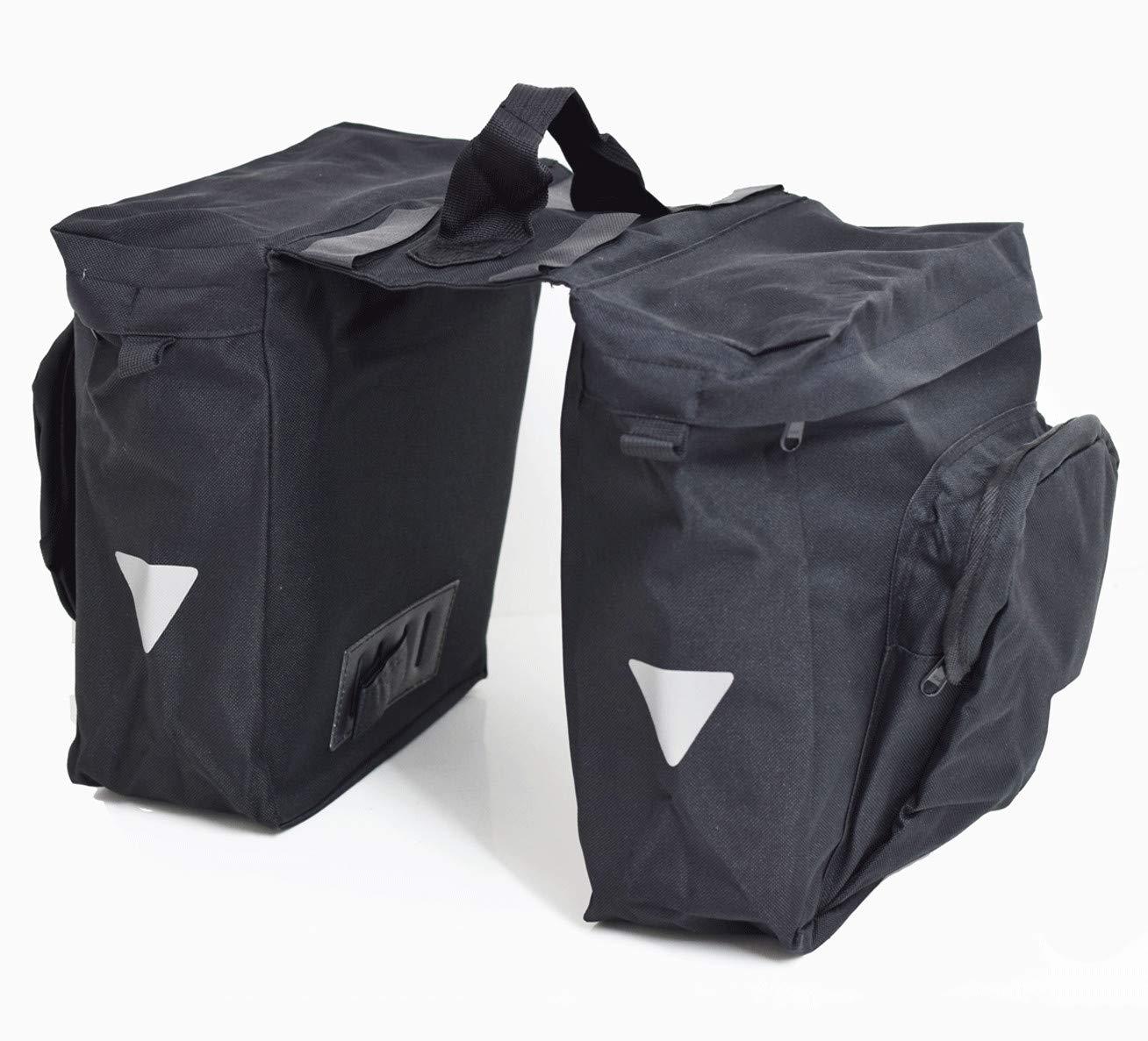 Savage PB14C Bike Bag for Luggage Rack (2-fold), Black