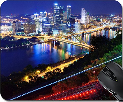 (MSD Natural Rubber Mouse Pad Mouse Pads/Mat design 19770028 PITTSBURGH AUGUST 7 PNC Park August 7 2012 in Pittsburgh PA)