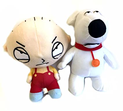 Amazon family guy stewie and brian 2 pc 7 plush toy set toys family guy stewie and brian 2 pc 7quot altavistaventures Choice Image