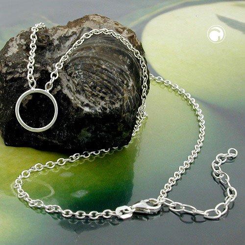 fa27cbb6ae4 Collier avec chaîne d extension d ancre femmes collier ancre argant argent  925 collier