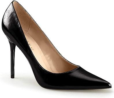 TALLA 36 EU. Pleaser Classique-20, Zapatos de tacón con Punta Cerrada para Mujer