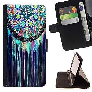 Dragon Case - FOR Samsung ALPHA G850 - they are easy - Caja de la carpeta del caso en folio de cuero del tirš®n de la cubierta protectora Shell