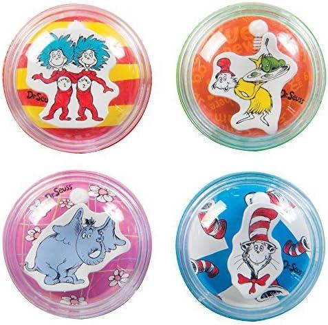 Raymond Geddes Dr. Seuss Pencil Sharpener Assortment 24 Pieces (69630) [並行輸入品]