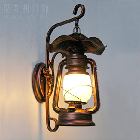 LIYAN lámpara de pared Aplique de pared Base E26/27 Las ...