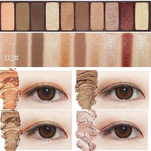 TiTCool Eyeshadow Palette Eye Shadow Powder Make Up Chocolat