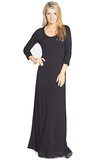 Element Juniors Ira Open Back Maxi Dress Black At Amazon Womens