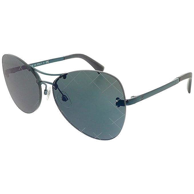 Chanel CH4218 PILOT QUILTING SILVER (C1244V) - Gafas de sol ...