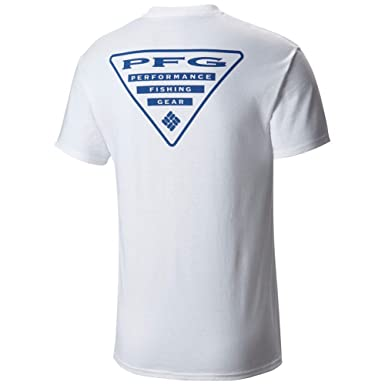 eed28ba9651 Amazon.com  Columbia Men s PFG Triangle Short Sleeve Tee Shirt  Clothing