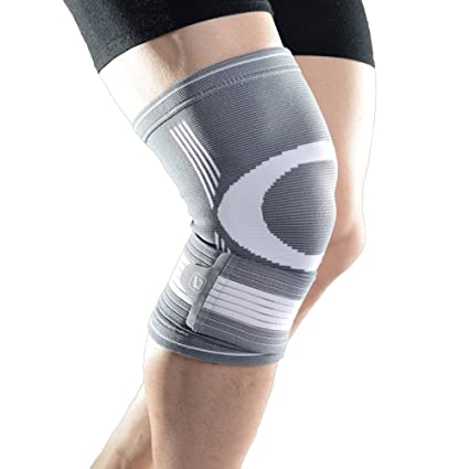 be5e53e726 Liveup SPORTS Knee Braces - Compression Knee Support Brace with Adjustable  Straps Elastic Bandage for Running, Jogging, Sports, Joint Pain Relief,  Arthritis ...