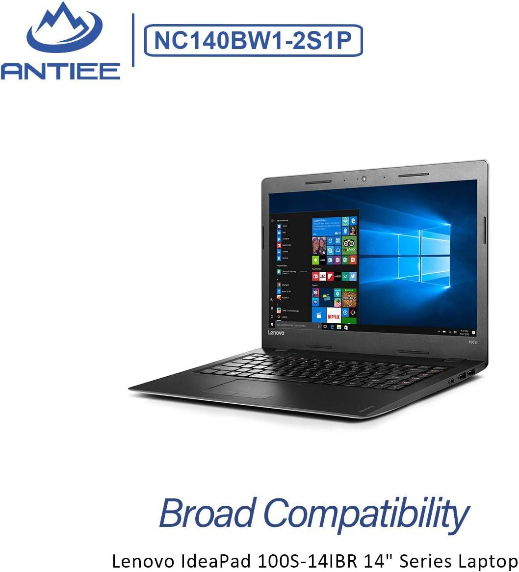 ANTIEE NC140BW1-2S1P Akku f/ür Lenovo IdeaPad 100S-14IBR 14 Series 100S-14IBR 80R9 80R9002WGE 80R90050GE 80R9005MPB 80R900BCAU 100S-14LBR 0813002 NC140BW1-2S1P 5B10K65026 31.92Wh