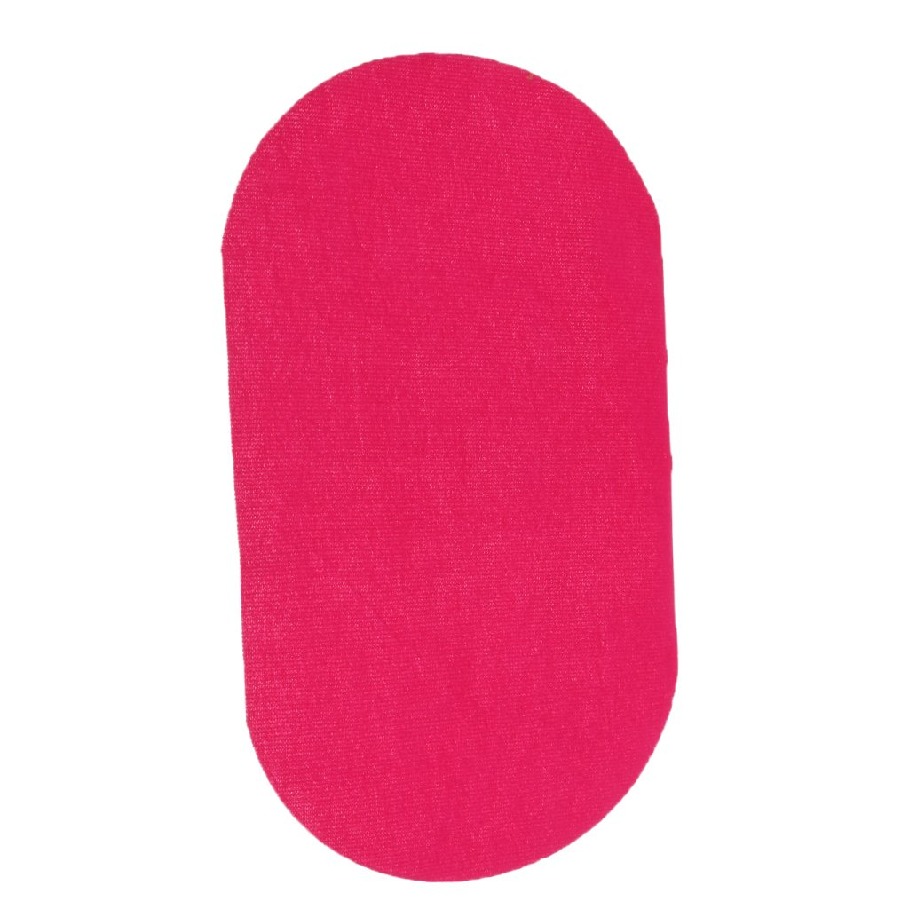 Baoblade Baoblaze Down Jackets Sew Iron-on Hole Repair Patches Waterproof Clothing Oval Mend Red