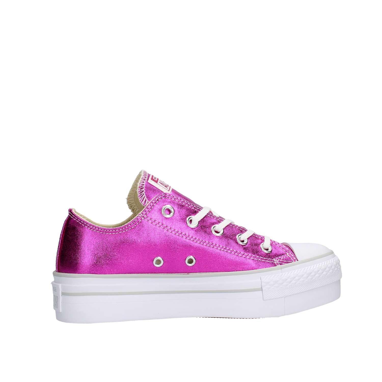 Converse - Converse Platform Damen Sportschuhe Fuxia 37 - Pink, 37 Fuxia  - 56271e
