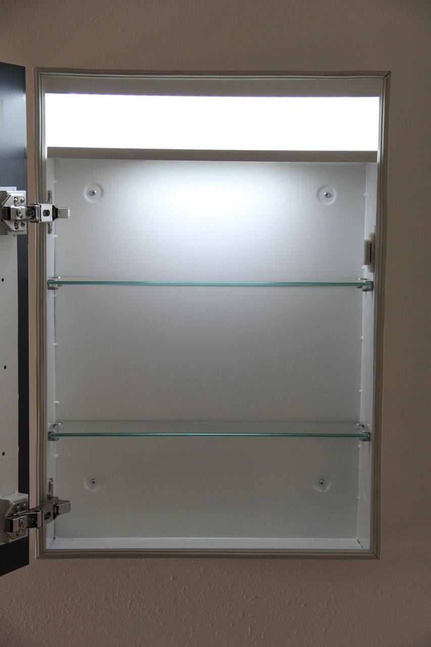 Amazon.com: LED Illuminated Medicine Cabinet: Home & Kitchen