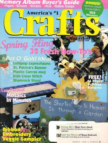 Crafts Magazine (March 1998, Volume 21, No. 3) (Shamrock Sampler)
