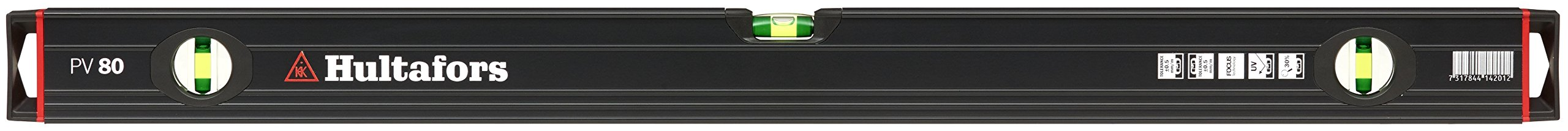 Hultafors 414201 PV 80 of aluminium Spirit Level