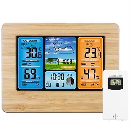 PMFS Termómetro Interior y Exterior Refrigerador Digital ...