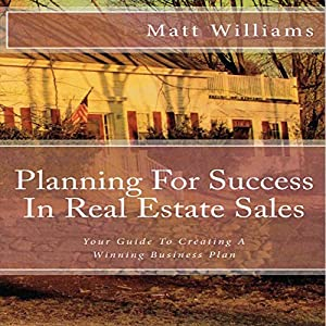 Planning for Success in Real Estate Sales Audiobook