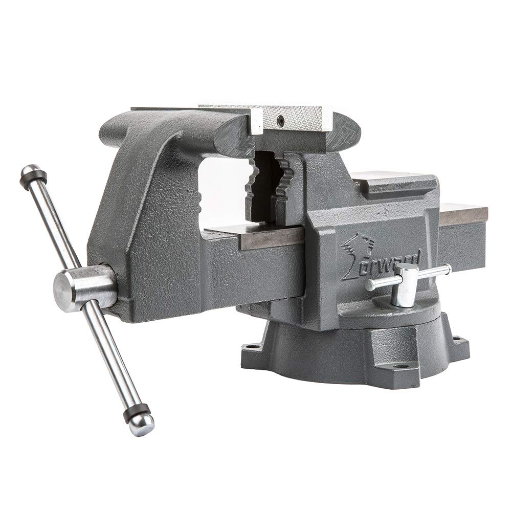 Forward CR60A 6.5-Inch Bench Vise Swivel Base Heavy Duty with Anvil (6 1/2'') by Forward (Image #1)