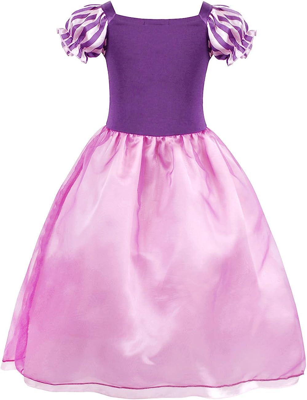 Cotrio Princess Dresses Girls Costumes Dress Up Accessories Set