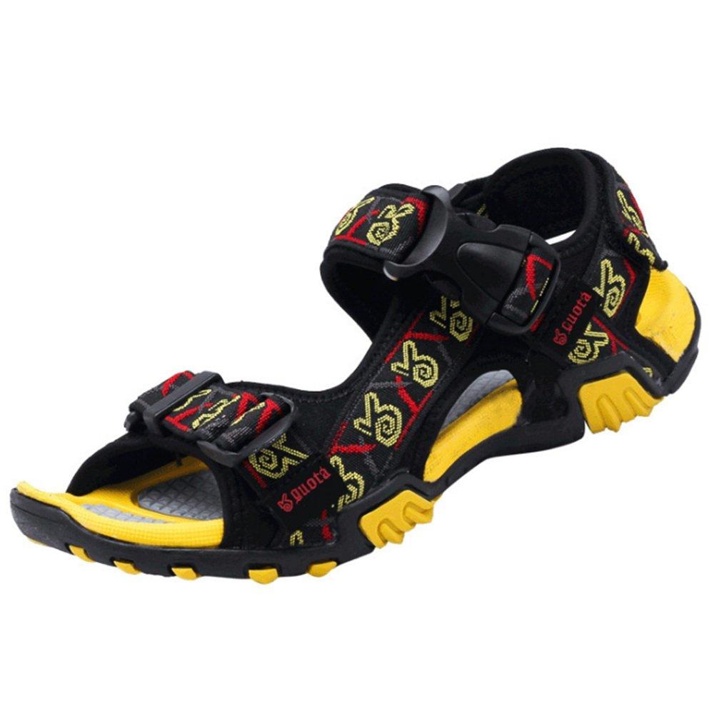 Sandalias De Verano Deportes Al Aire Libre Zapatos De Playa Ligeros Sandalias De Hombre Amarillo 40 EU|Amarillo